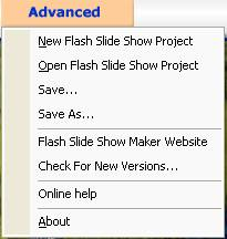 free slideshow creator for webpage from images - effect bitmap on flash